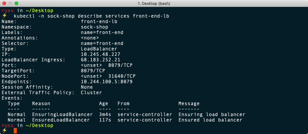 First steps with DigitalOcean's Managed Kubernetes service