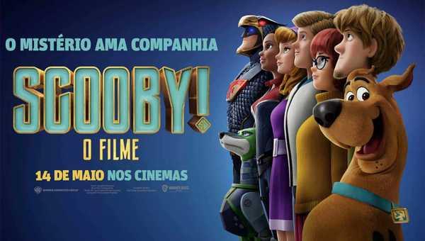 Scooby O Filme cartaz de cinema pt br