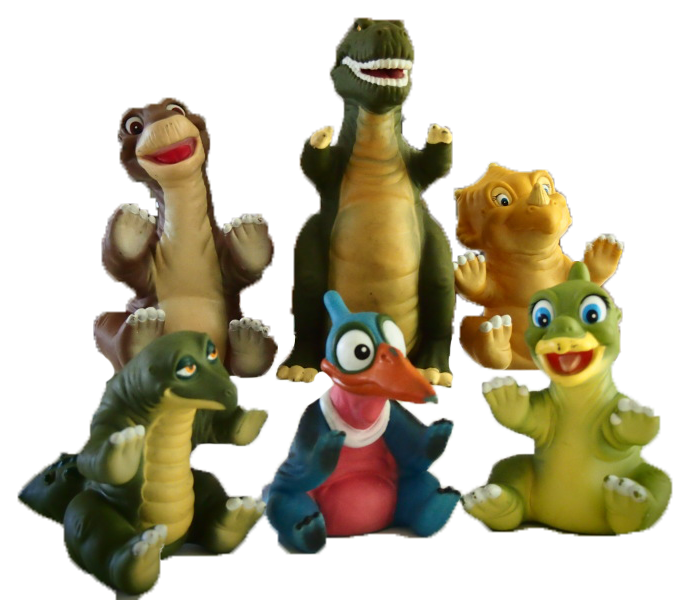 Pizza Hut Museum Land Before Time toys