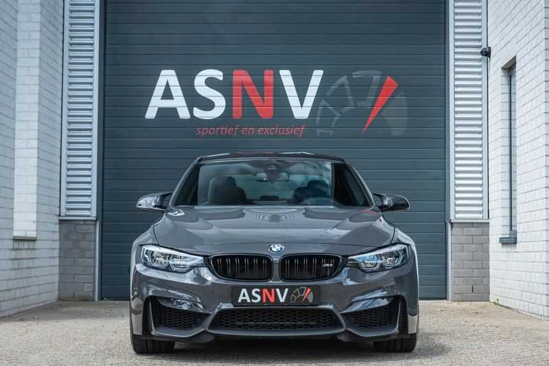 BMW 3 Serie M3 Competition DCTA, 450 PK, Facelift, Akrapovic, Harman/Kardon, Head/Up, LED, Surround View, Carbon, 2017, Org. NL!! afbeelding 24