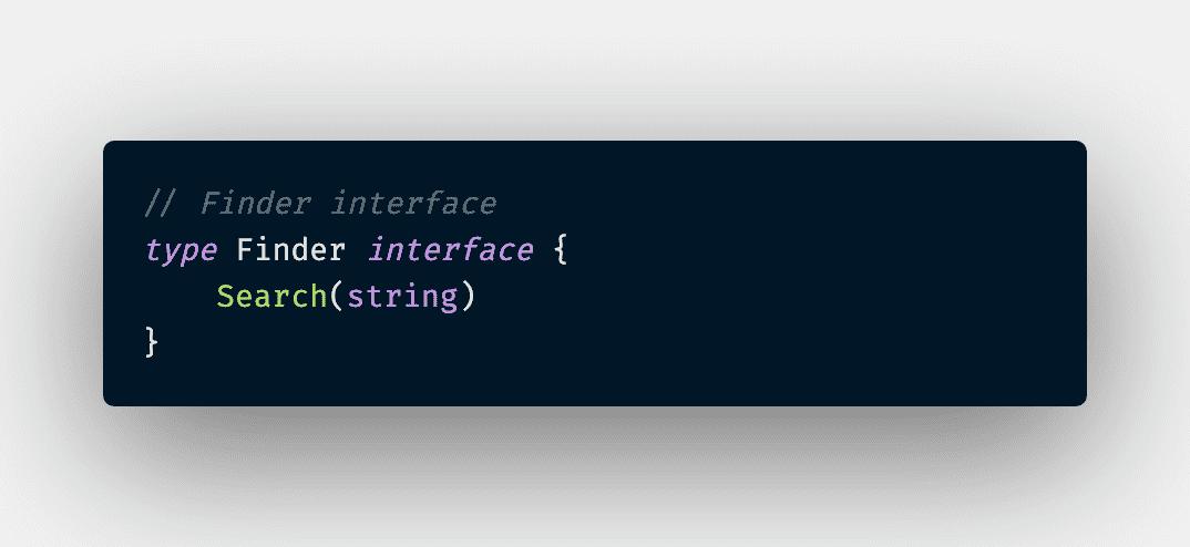 Composite Finder Interface