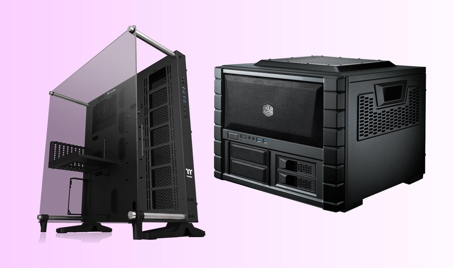 Top Horizontal PC Cases