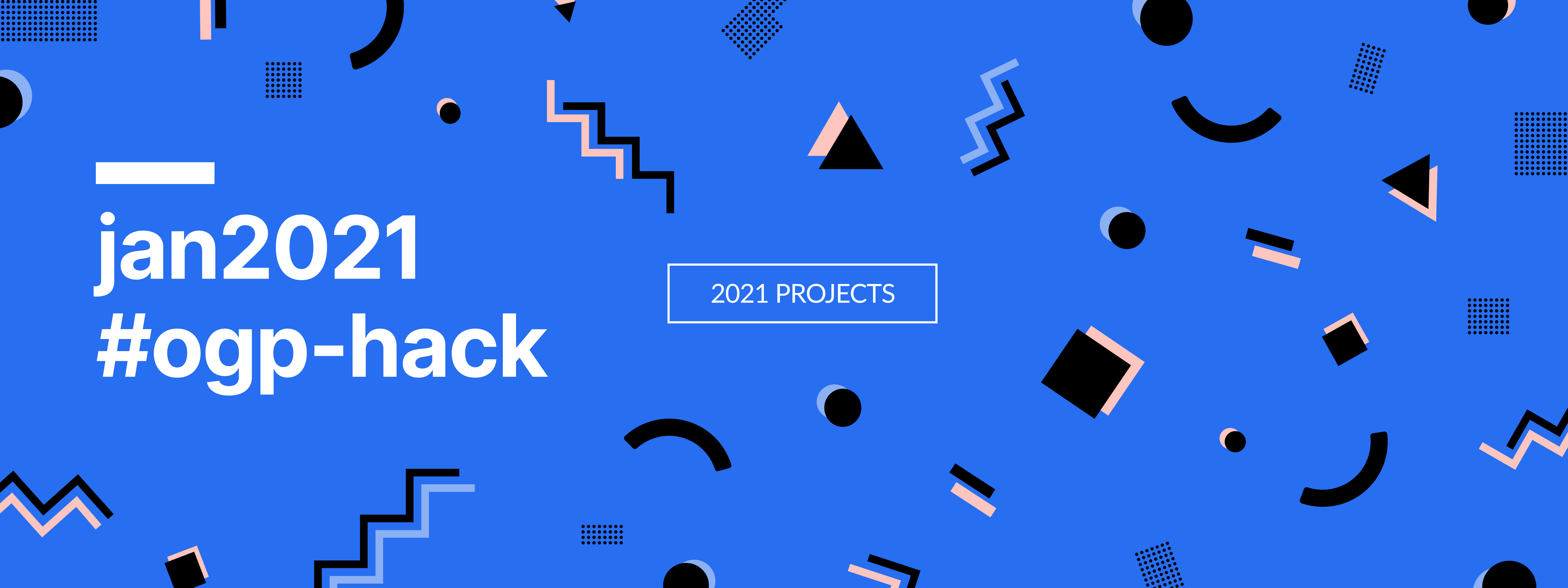 2021 Projects Banner