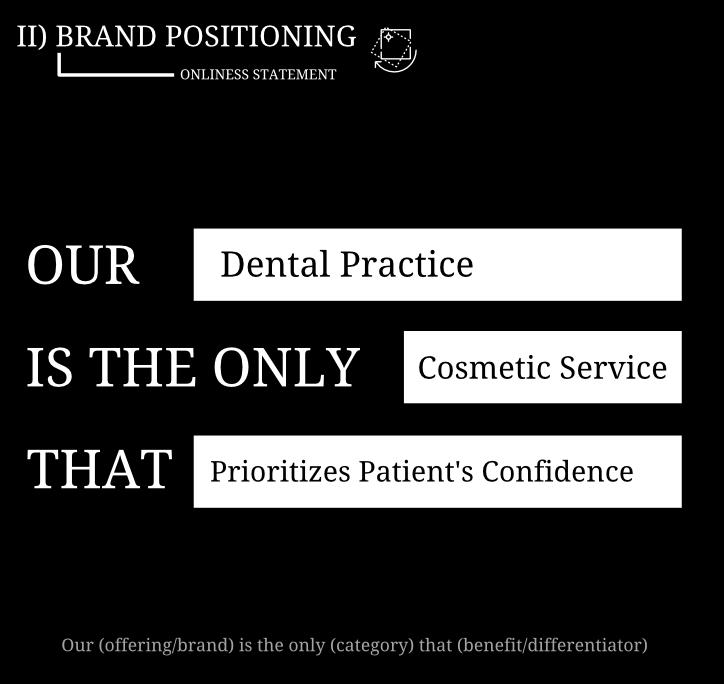 Healthcare branding example