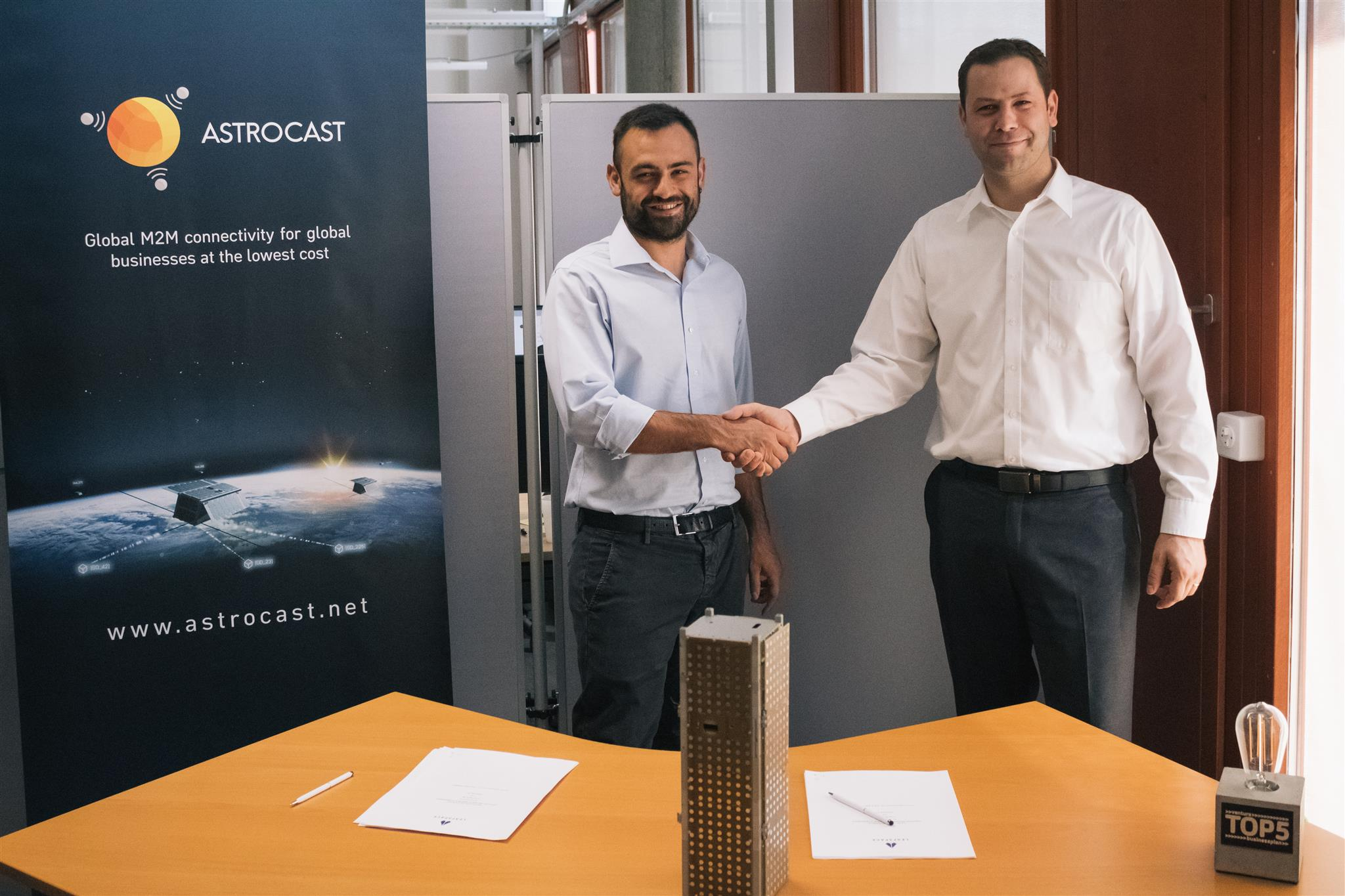 Astrocast Announces Agreement with Leaf Space for Global IoT Network Use of Ground Stations