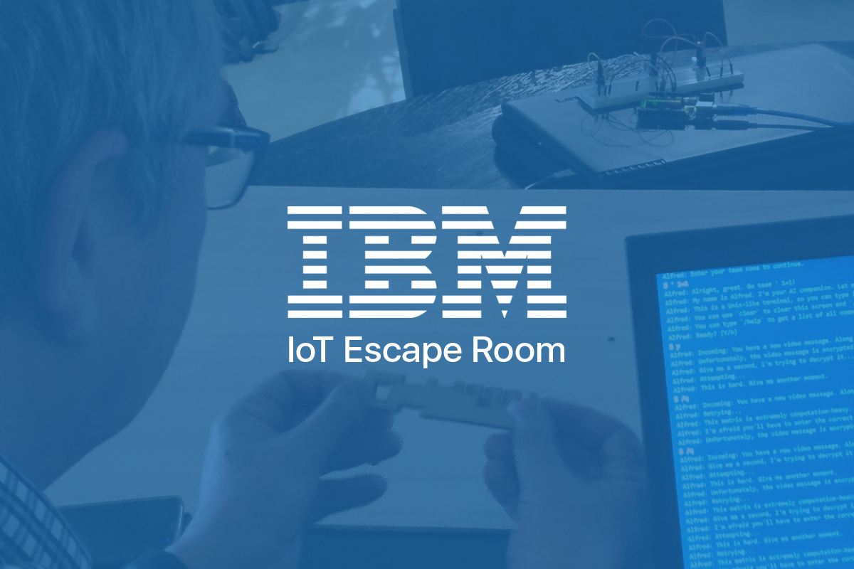 Graphic for IBM IoT Escape Room