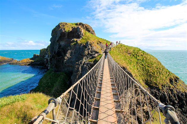 Chauffeur Me Tour Location - Carrick-a-Rede Rope Bridge