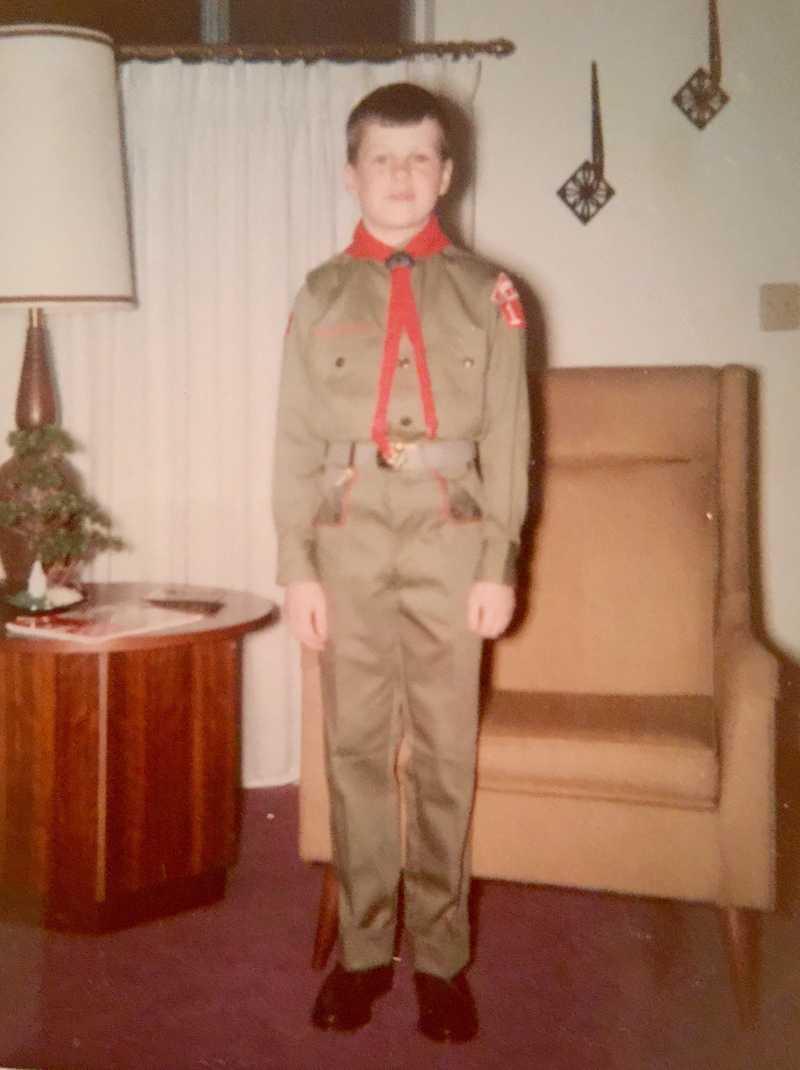 New scout uniform