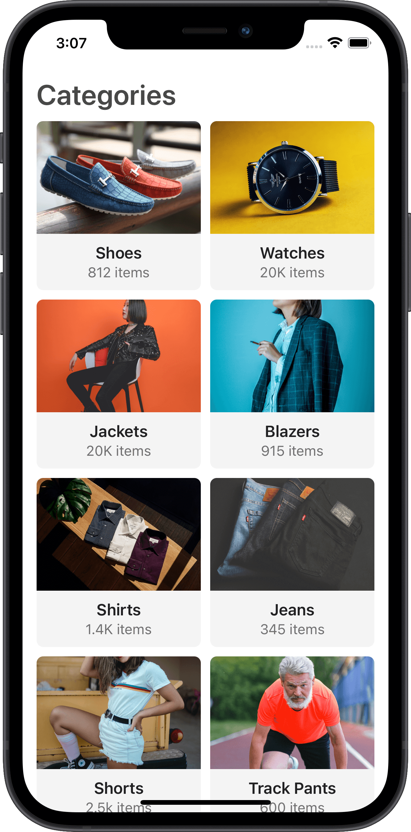e-commerce, categories, sneakers, products, nike