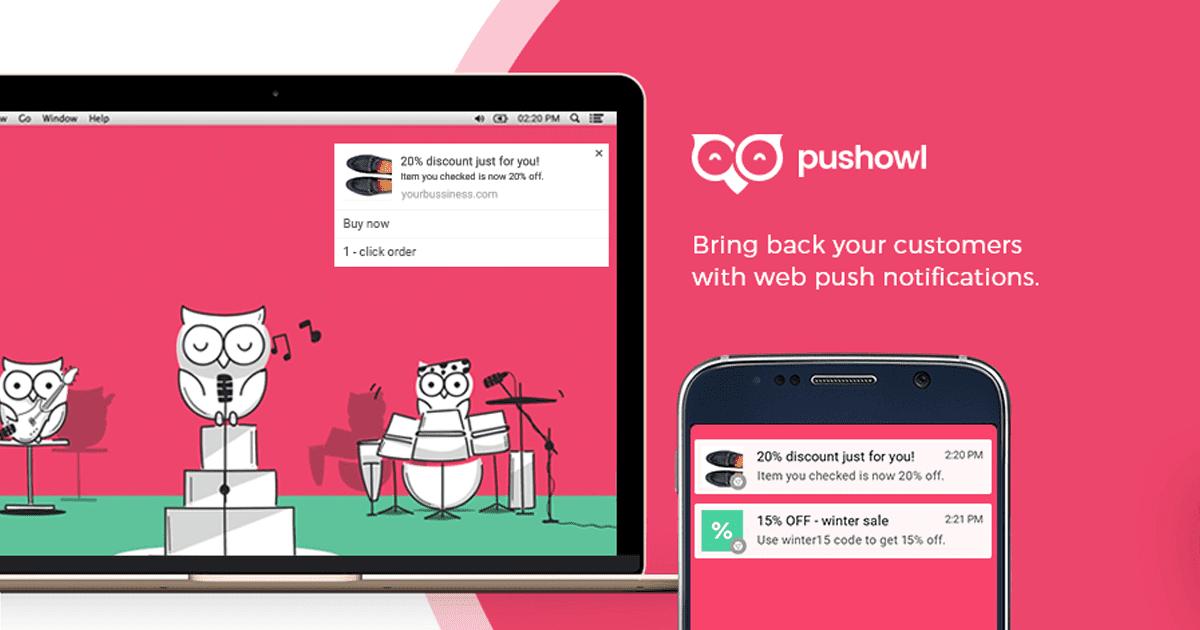 PushOwl Web Push Notifications