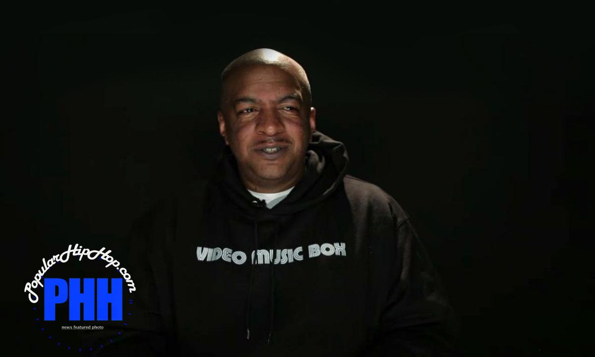 Ralph McDaniels of Video Music Box