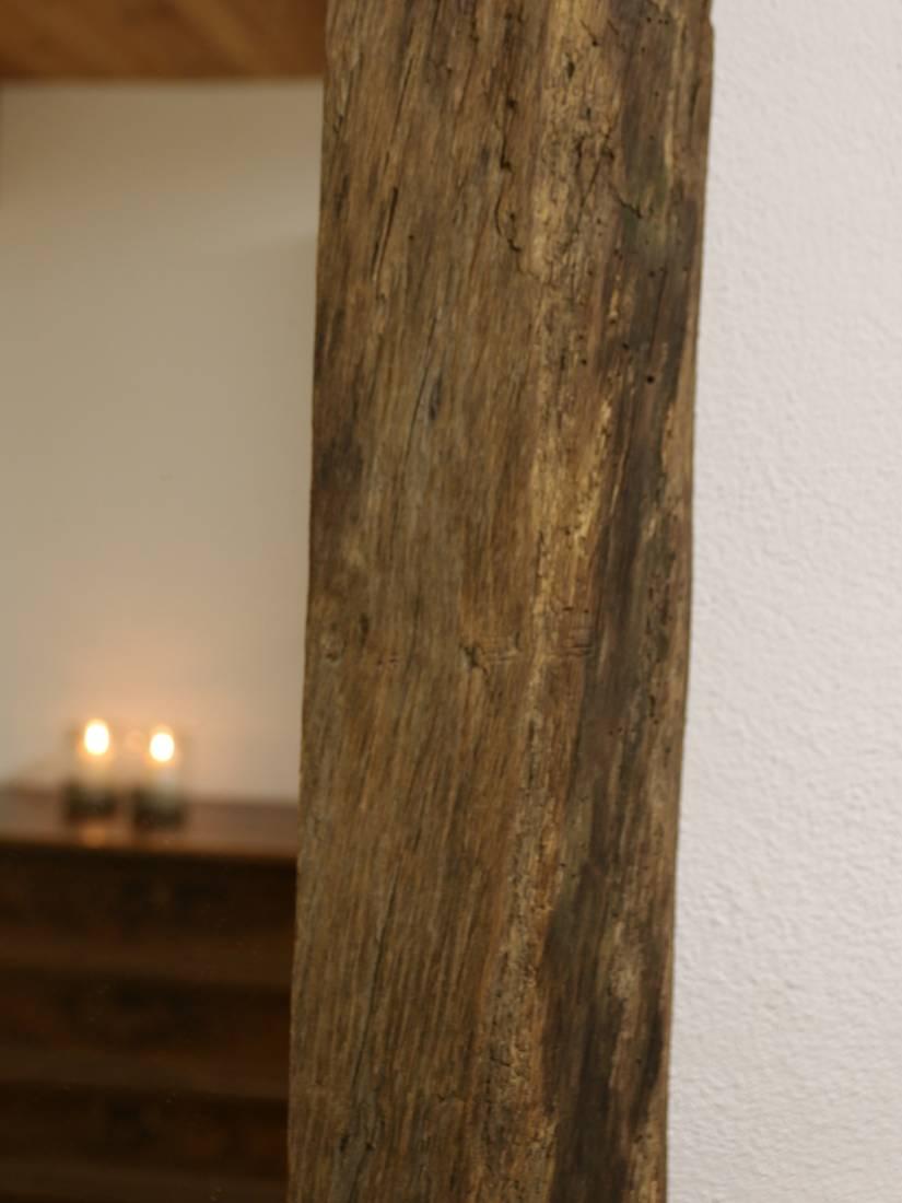Spiegel aus Altholz. Von RUPPERTdesign.
