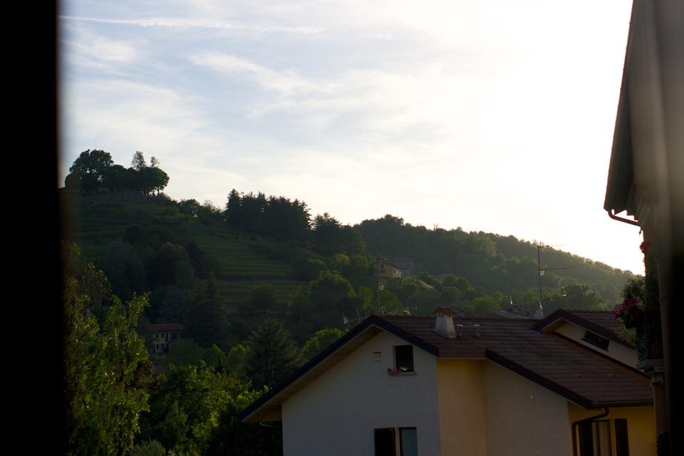Bergamo hillside