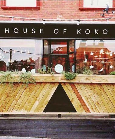 House of Koko door and sign