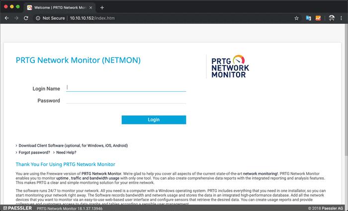 Netmon PRTG