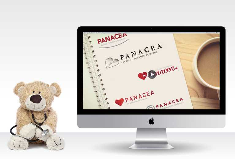 panacea advertisement on computer screen