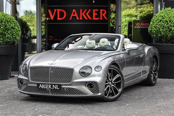 Bentley Continental GTC V8 MULLINER MASSAGE+NEKVERW.+22INCH NP.334K