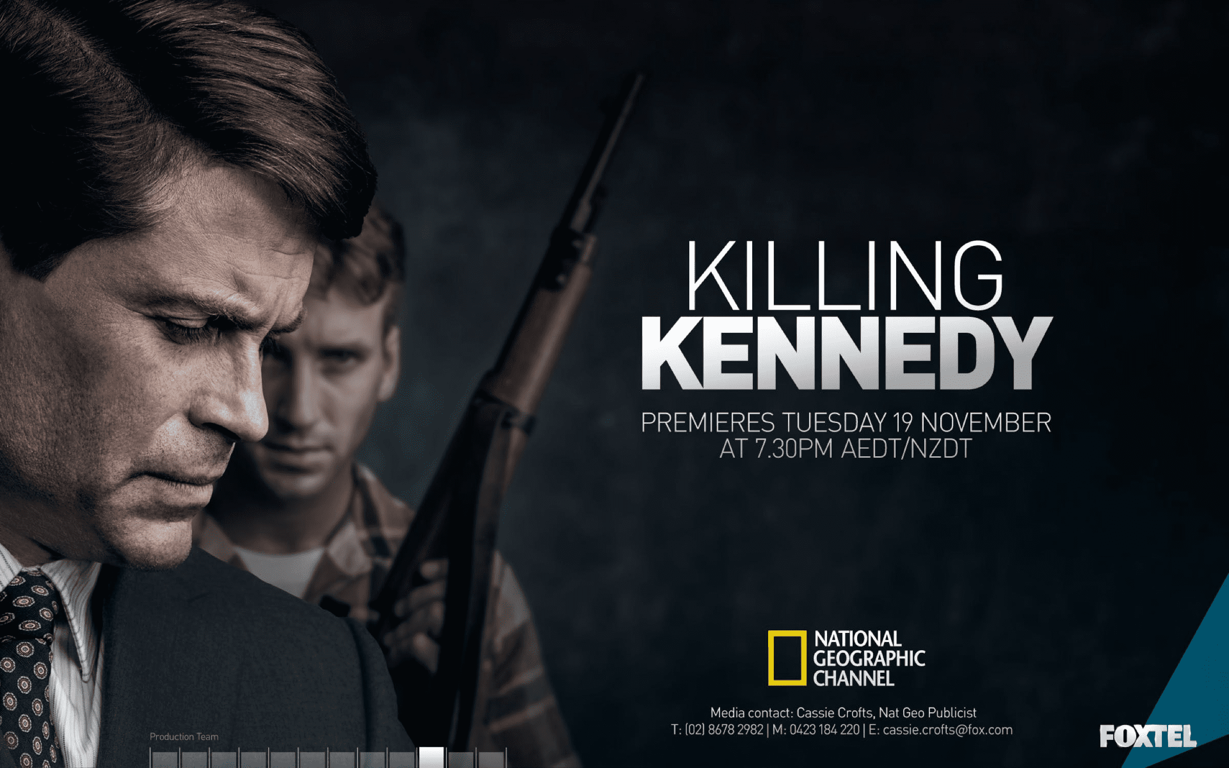 Killing Kennedy: Splash Screen