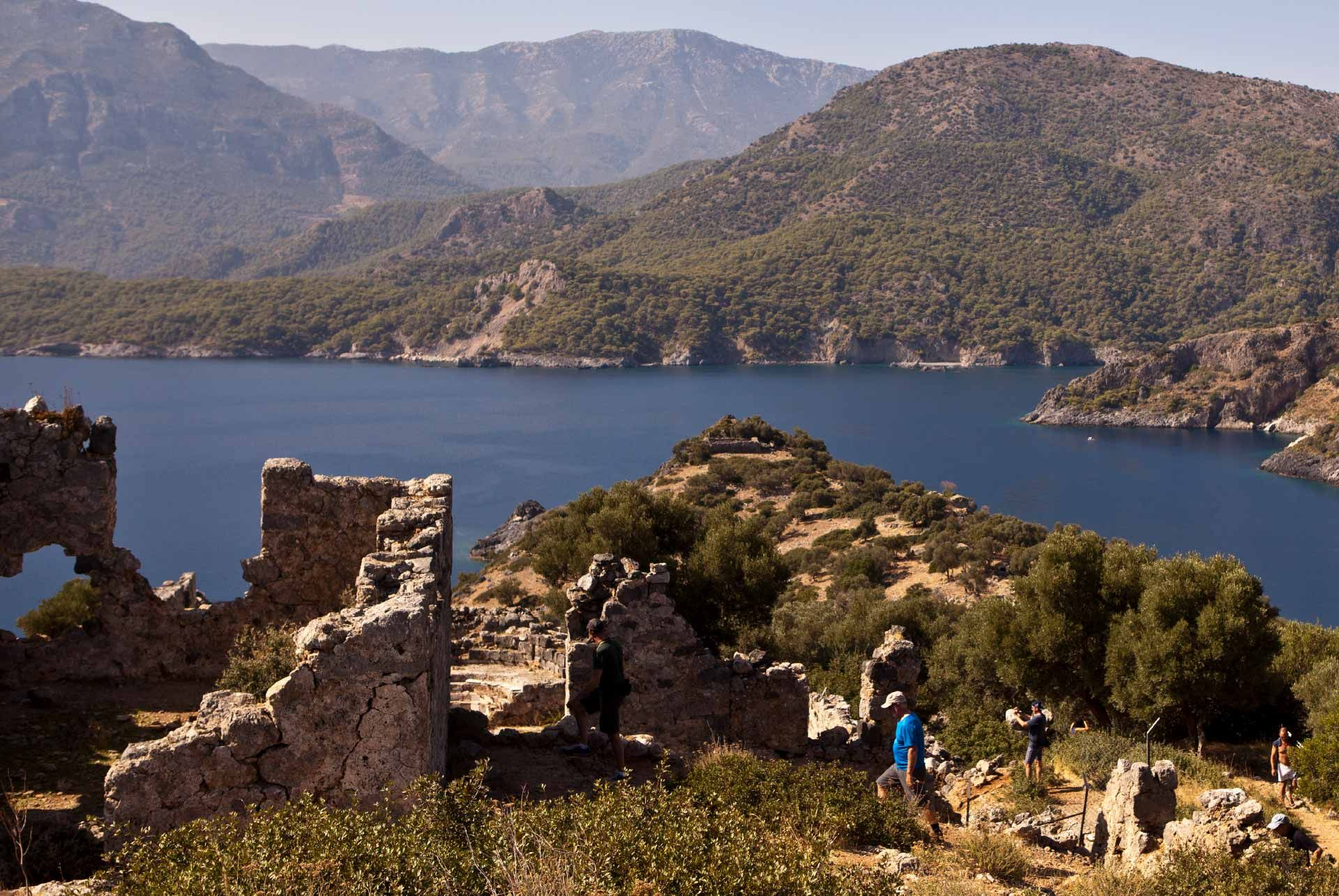 Gemiler Island Ruins