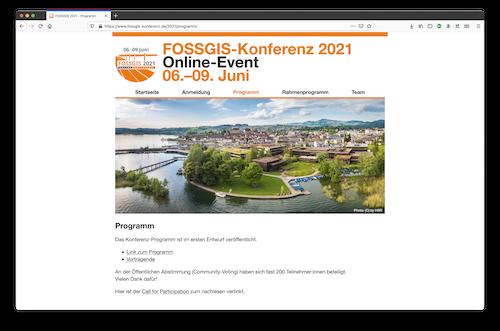"""We're proud to be a bronze sponsor of FOSSGIS-Konferenz 2021"""
