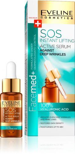 EVELINE FACEMED SOS aktív szérum 100% hyaluron savval 18ML | Eveline Cosmetics