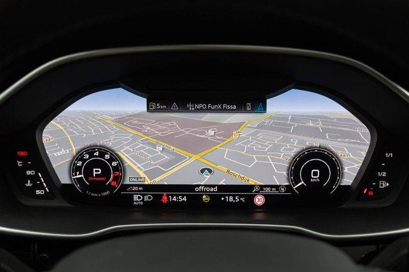 "Audi RSQ3 Sportback 2.5 TFSI 400pk Quattro Panoramadak BlackOptic B&O ValconaLeder+Memory Matrix Navi/MMI DriveSelect Keyless Trekhaak Camera 21"" Pdc afbeelding 22"