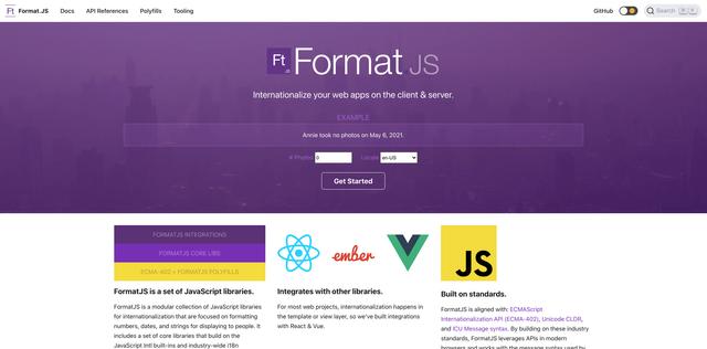 FormatJS