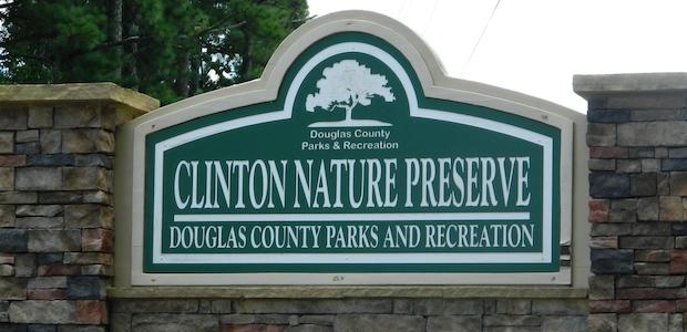 Clinton Nature Preserve Sign