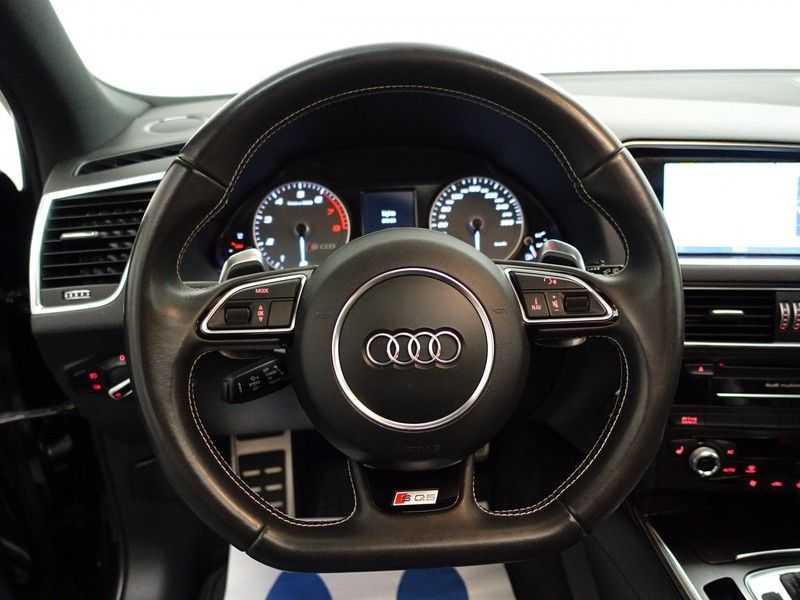 Audi SQ5 3.0 TFSI Quattro 354pk Autom- Panodak, B&O, Leer, Camera, Navi, Xenon, 21 Inch LMV afbeelding 14