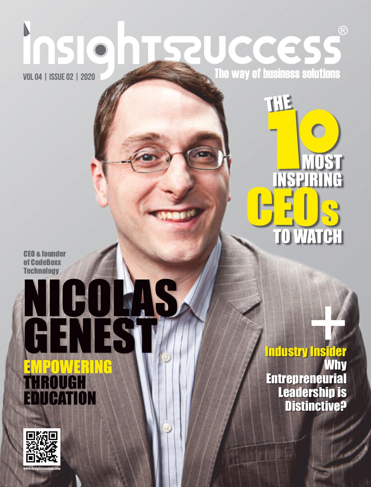 Nicolas Genest Insight Success Magazine