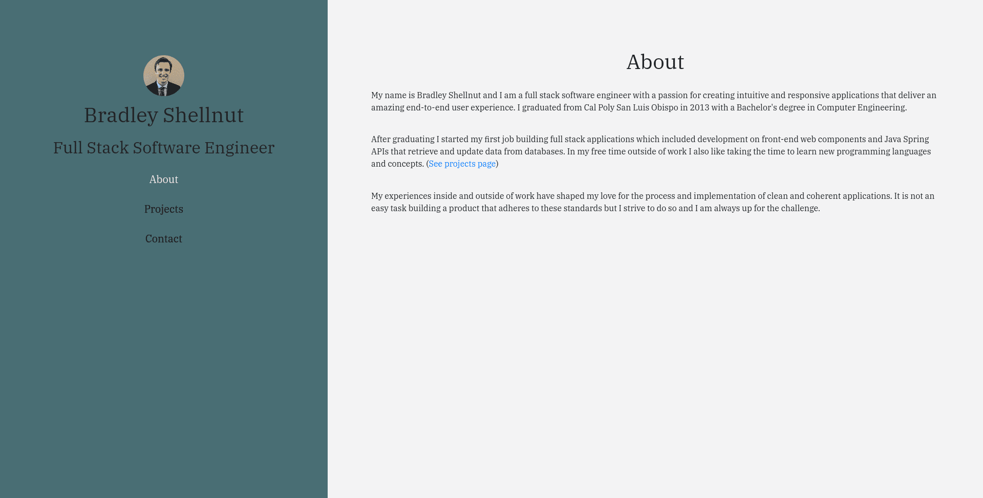 Home Page of old bradleyshellnut.com