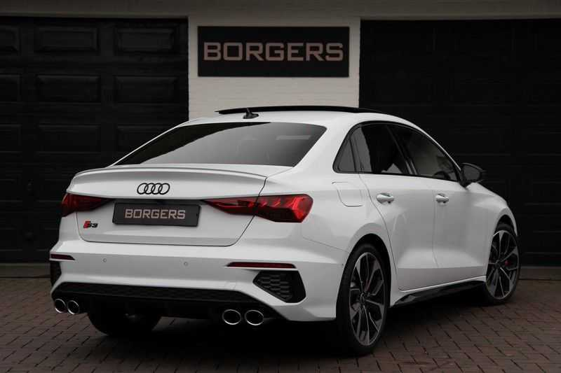 Audi S3 Limo 310PK PANO.DAK+LEDER+HEAD-UP+MASSAGE+B&O afbeelding 11