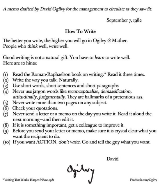 How to write well