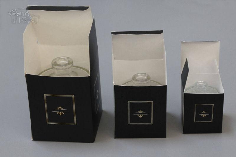 Kvepalų dėžutės iš kartono