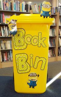 A yellow bin