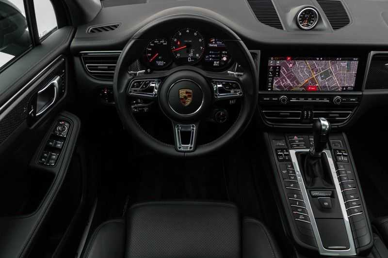 "Porsche Macan 3.0 S 354pk PDK Black Design Nieuw Model Luchtvering Panoramadak SportChrono ACC Sportleder+Memory Keyless Full-Led Navi/High Privatglass AppleCarplay 21""Turbo Pdc afbeelding 5"
