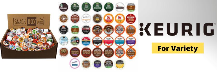 Nespresso vs Keurig - Keurig For Variety Image