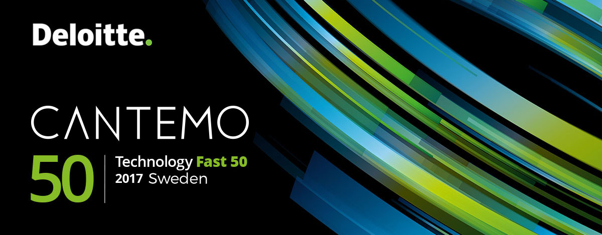 Cantemo ranked in Deloitte Sweden Technology Fast 50
