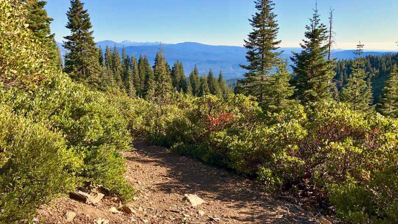 My first view of Lassen Peak