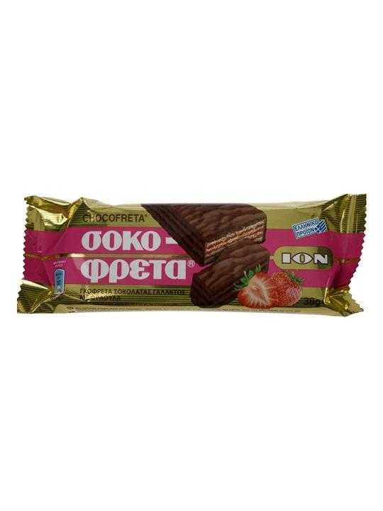 Sokofreta Chocolate with Strawberry - 38g