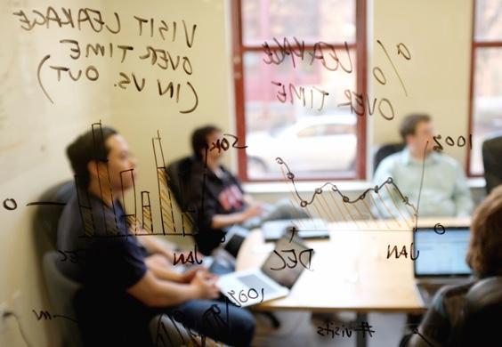Meeting through a window