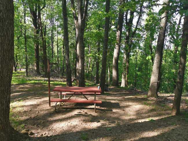 Camping de Rocky Knob