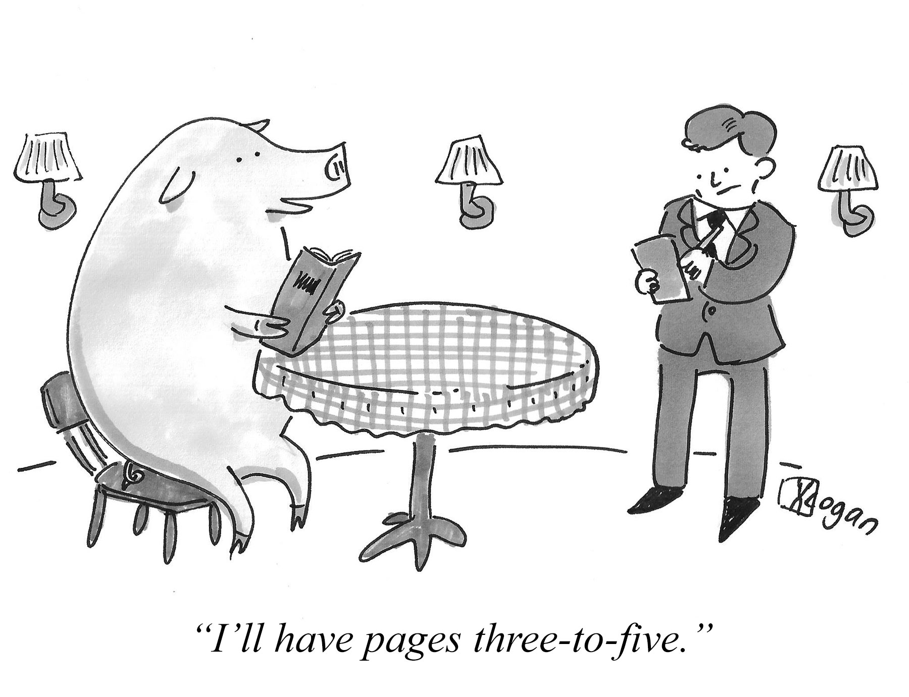 I'll have pages three-to-five.