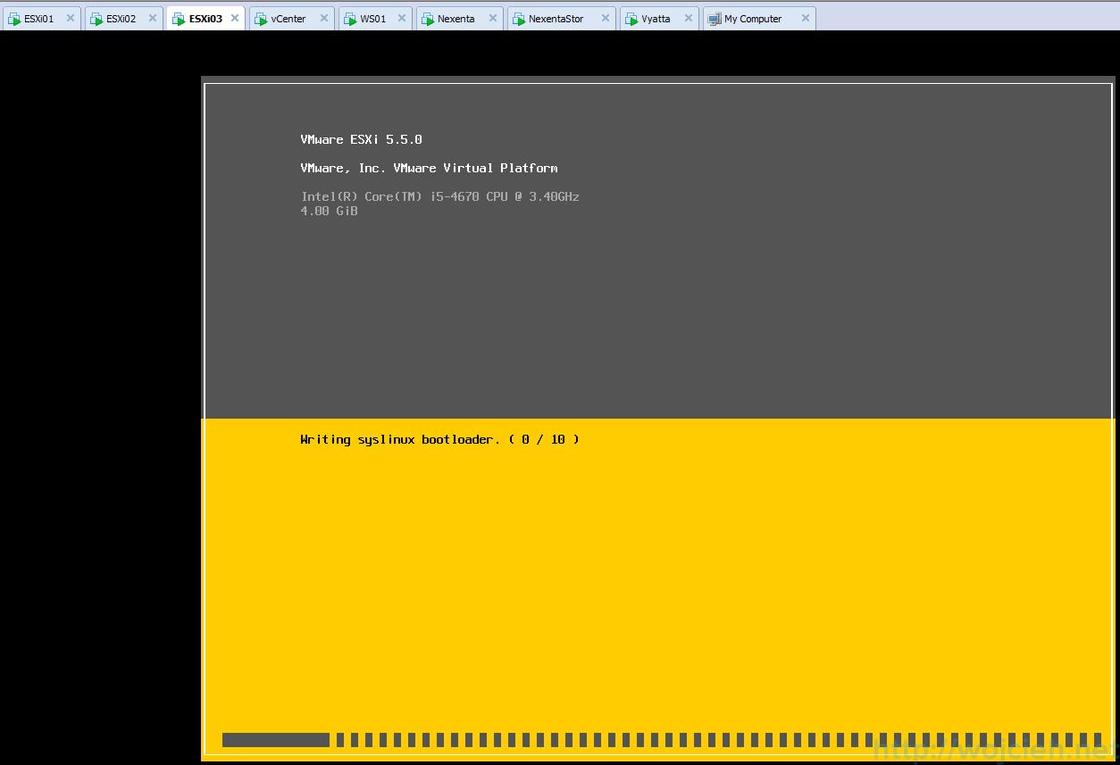 ESXi update - vSphere Update Manager 14