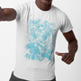 Hatsune Miku Blue Line Art Crew T-Shirt