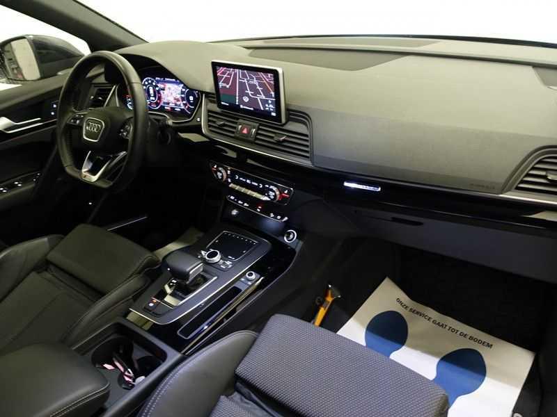 Audi Q5 2.0 TFSI 252pk Quattro [S-Line] Autom- Virtual Cockpit, Leer, B&O, Camera, Xenon Led, Nw model! afbeelding 6