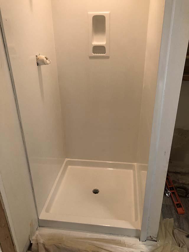 Shower 1 - After