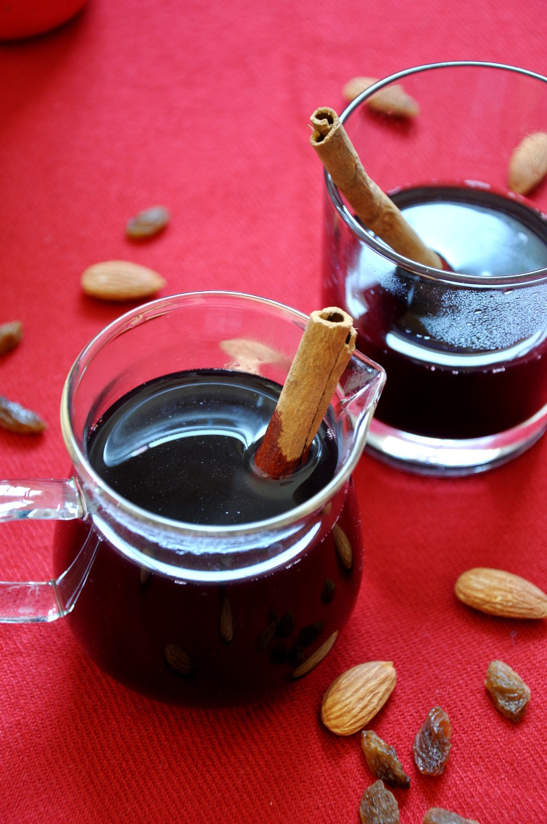 Glögg Swedish Mulled Wine