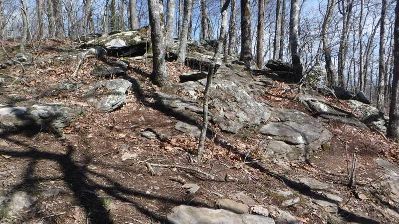 Rocks on Rocky Mountain