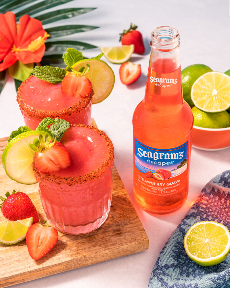 Strawberry Guava-rita Recipe Image